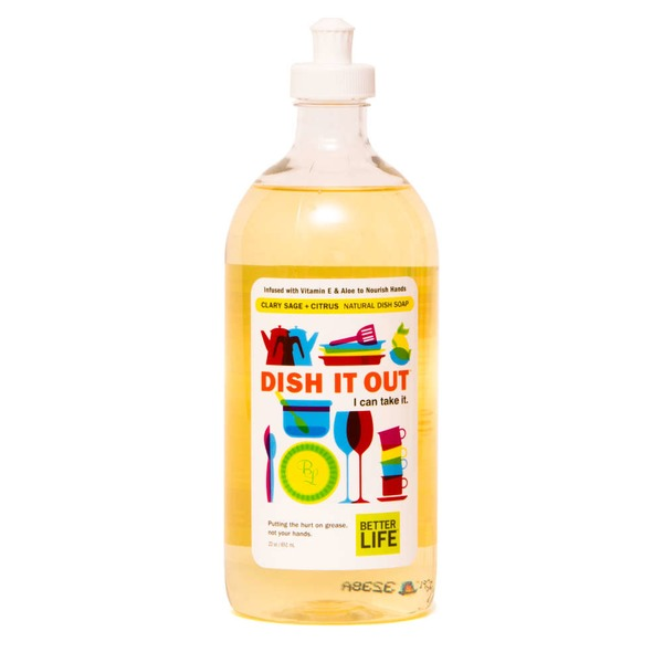 Better Life Clary Sage & Citrus Dish It Out Dish Liquid