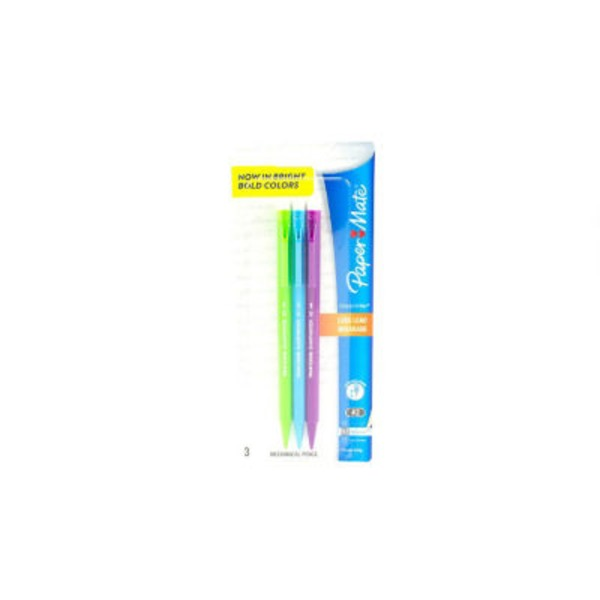 Paper Mate Mechanical Pens (0.7 Mm) Assorted Colors.