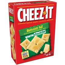 Cheez-It Reduced Fat White Cheddar Baked Snack Crackers 11.5 oz. Box