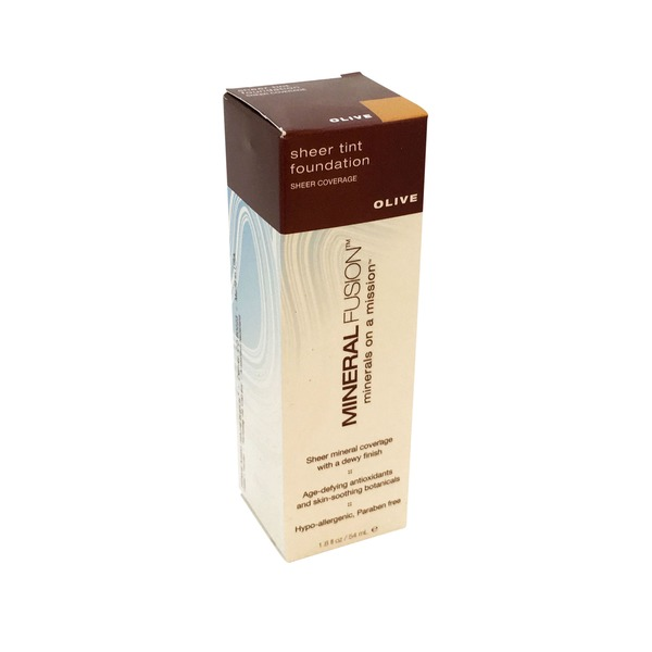 Mineral Fusion Sheer Tint Foundation - Olive