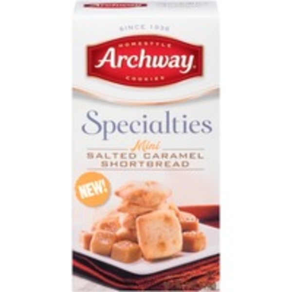 Archway Specialties Mini Salted Caramel Shortbread Cookies