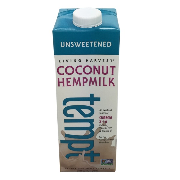 Living Harvest Tempt Unsweetened Coconut Hemp Milk