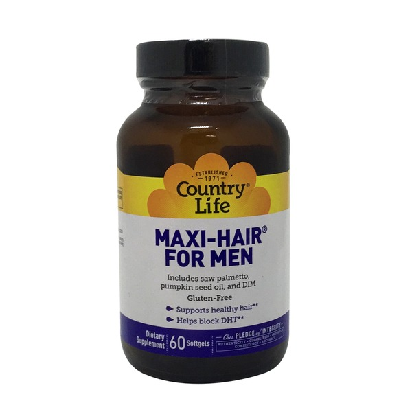 Country Life Maxi-Hair For Men Dietary Supplement