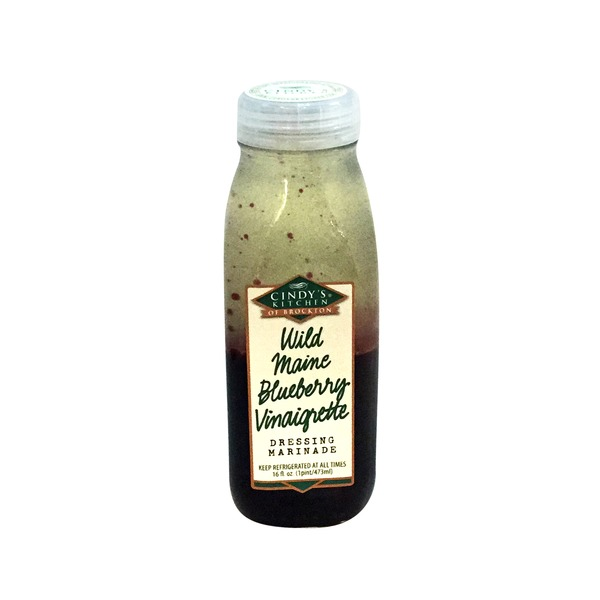 Cindy's Kitchen All Natural Wild Maine Blueberry Vinaigrette Dressing and Marinade