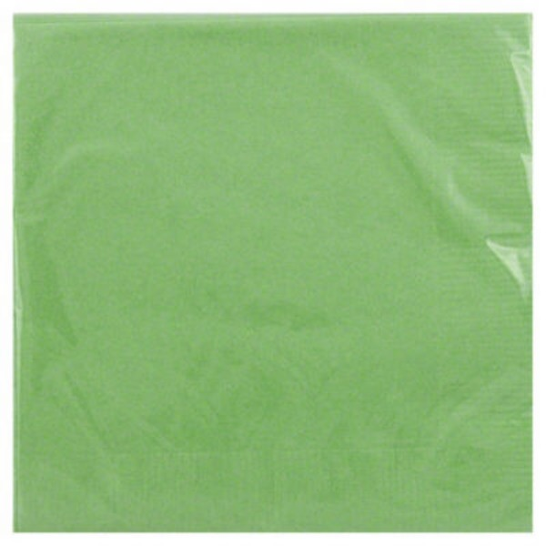Unique Lime Green 2 Ply Beverage Napkins