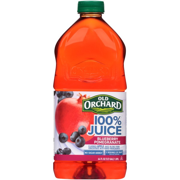 Old Orchard 100% Juice Blueberry Pomegranate Juice