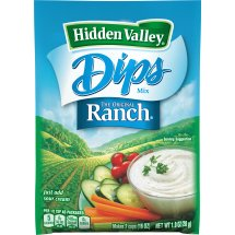 Hidden Valley Dips Mix, Original Ranch, 1.0 oz