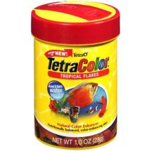 Tetra 1 Oz Color Tropical Flakes