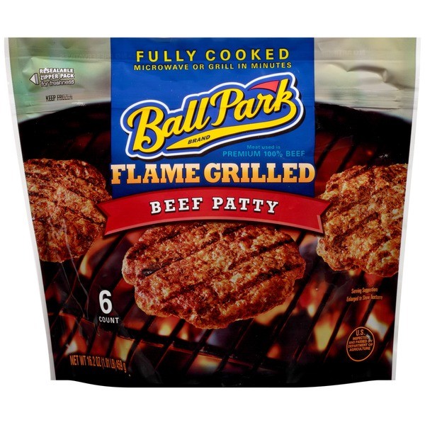 Ball Park Flame Grilled Beef Patty