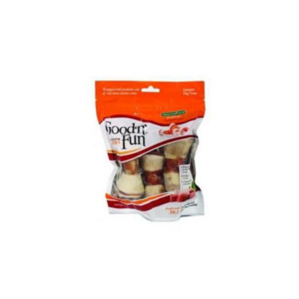 Healthy Hide Chews, Triple-Flavor, 4 Inch Bones