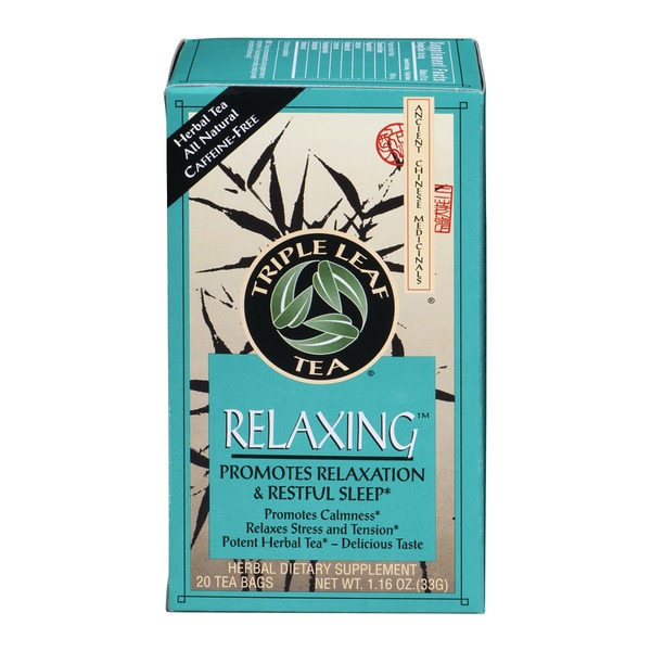 Triple Leaf Tea Relaxing Tea - 20 CT