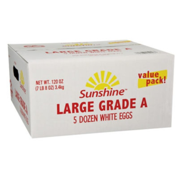 Sunshine 5 Dozen Large Grade A Eggs