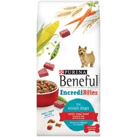Beneful Dry IncrediBites for Small Dogs With Real Beef Dog Food