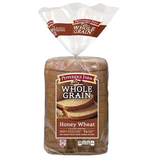 Pepperidge Farm Fresh Bakery Whole Grain Honey Wheat Bread