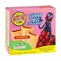 Earth's Best Sunny Days Snack Bars, Strawberry