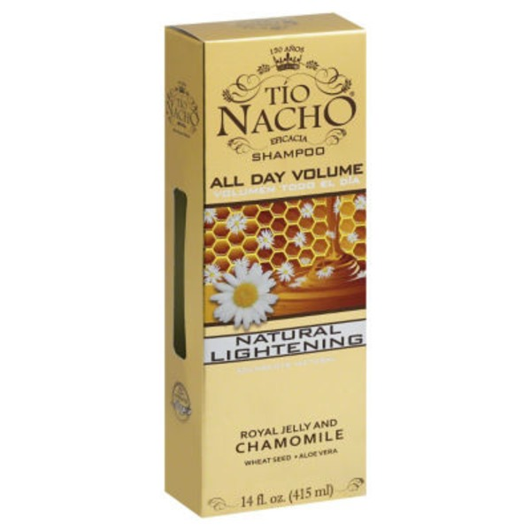 Tio Nacho Royal Jelly and Chamomile Natural Lightening Shampoo