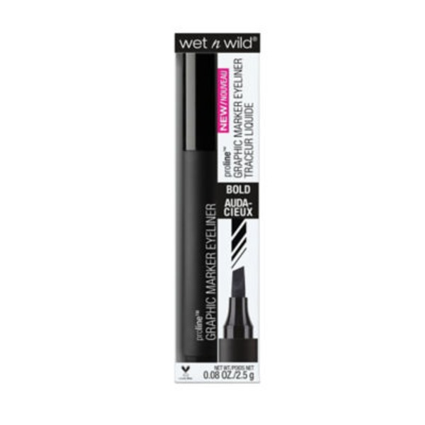 Wet n' Wild Proline Graphic Marker Eyeliner 877 Jetliner Black