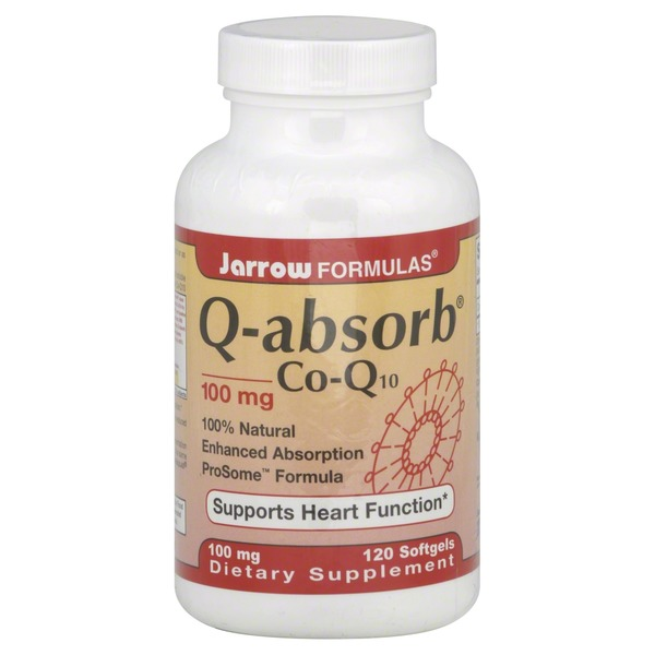 Jarrow Formulas Q-absorb Co-Q10, 100 mg Softgels