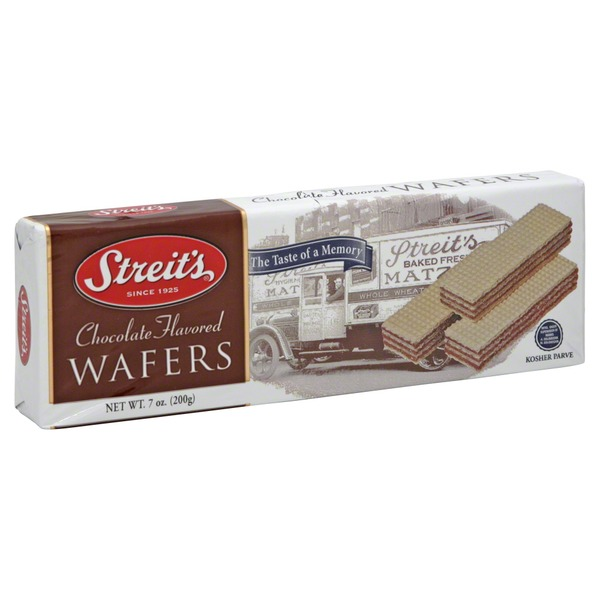 Streit's Wafers, Chocolate Flavored