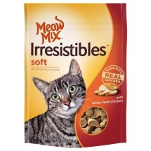 MEOW MIX IRRESISTABLES 3OZ SOFT CHICKEN