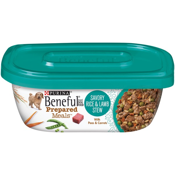 Beneful Prepared Meals Savory Rice & Lamb Stew Dog Food