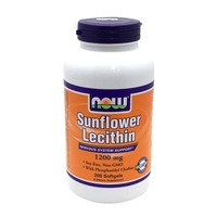 Now Sunflower Lecithin 1200 mg Softgels