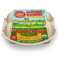 Vital Farms Organic Pasture Raised Large Grade AA Eggs