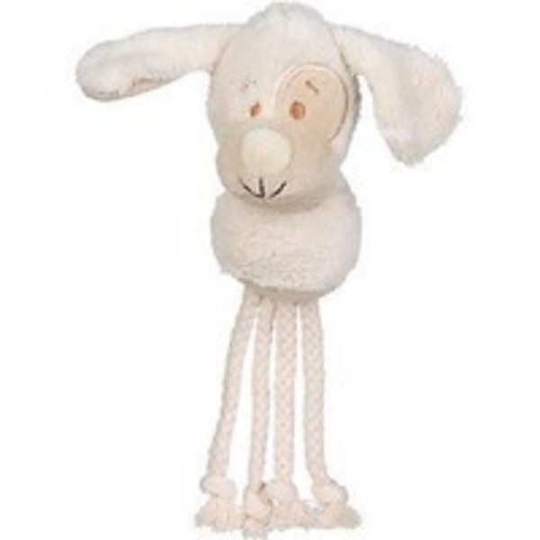 Planet Petco Dog With Rope Body Plush Dog Toy 12