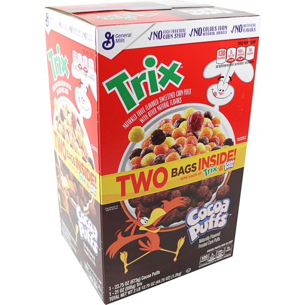 General Mills Trix & Cocoa Puffs Cereal