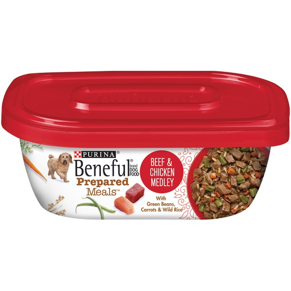Beneful Prepared Meals Beef & Chicken Medley Dog Food