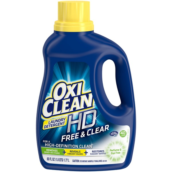 Oxi Clean HD Free & Clear Laundry Detergent