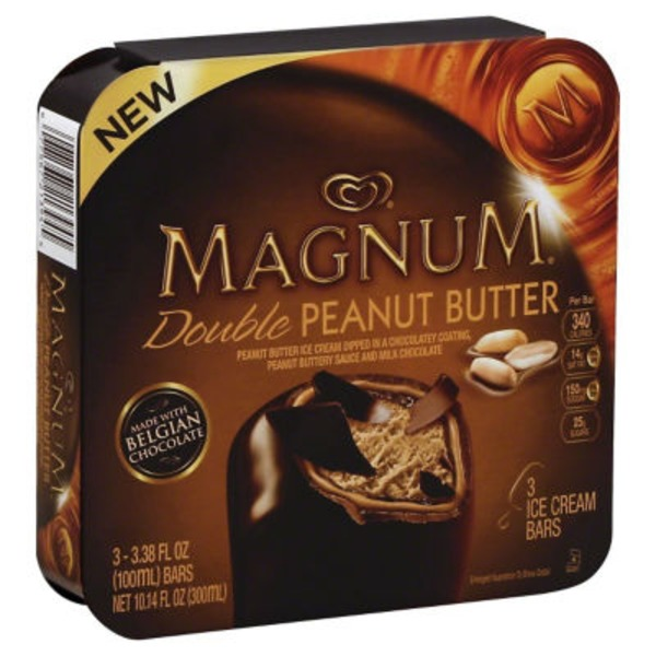 Magnum Double Chocolate Ice Cream Bars