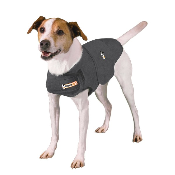 Thundershirt Heather Gray Dog Anxiety Solution X-Small