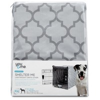 You & Me Shelter Me Lightweight Crate Cover XX Large For Crates 48