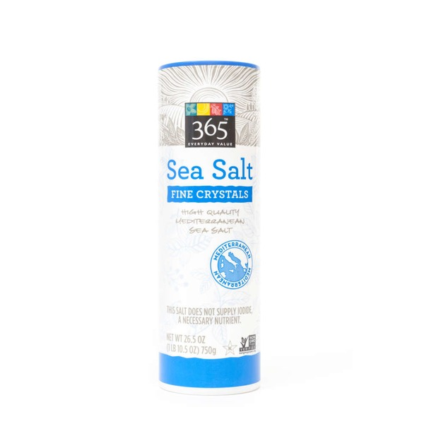 365 Sea Salt Fine Crystals
