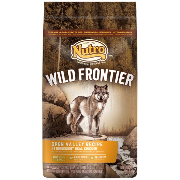 Nutro Wild Frontier Adult Open Valley Recipe with Chicken Natural Dog Food