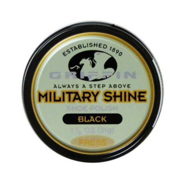 Griffin Military Shoe Shine, Black