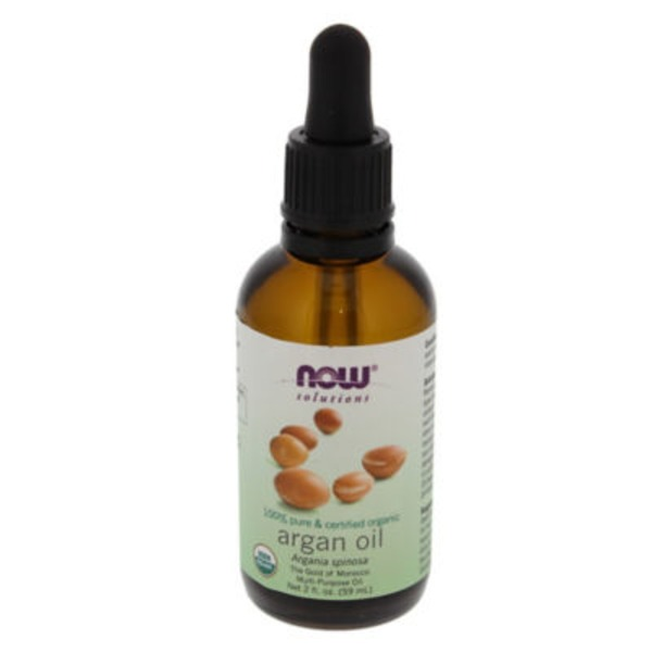 Now Certified Organic 100% Pure Argan Oil