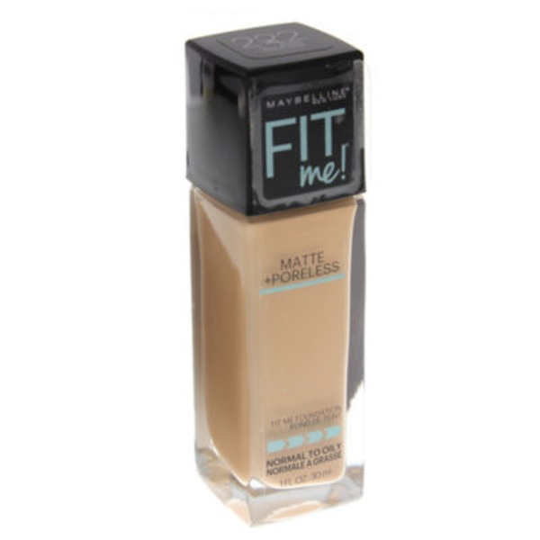 Fit Me® 222 True Beige Matte + Poreless Foundation