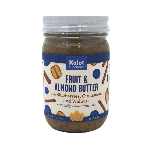 Kolat Fruit & Almond Butter, Blueberry Cinnamon Walnut