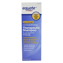 Equate Extra Strength 6 fl oz Anti Dandruff Formula Therapeutic Shampoo