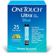 OneTouch Ultra Blood Glucose Test Strips, 25 Ct