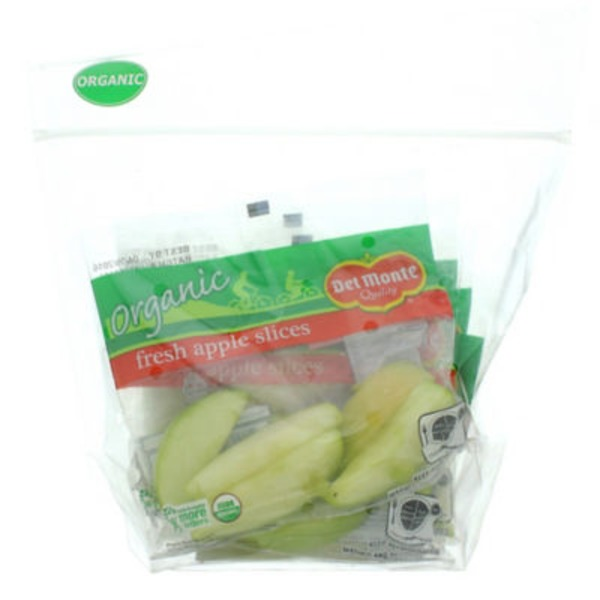 Del Monte Organic Green Apple Slices