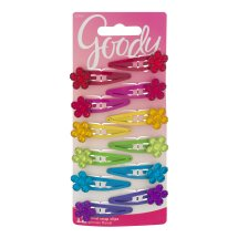 Goody Floral Snap Clips - 12 CT