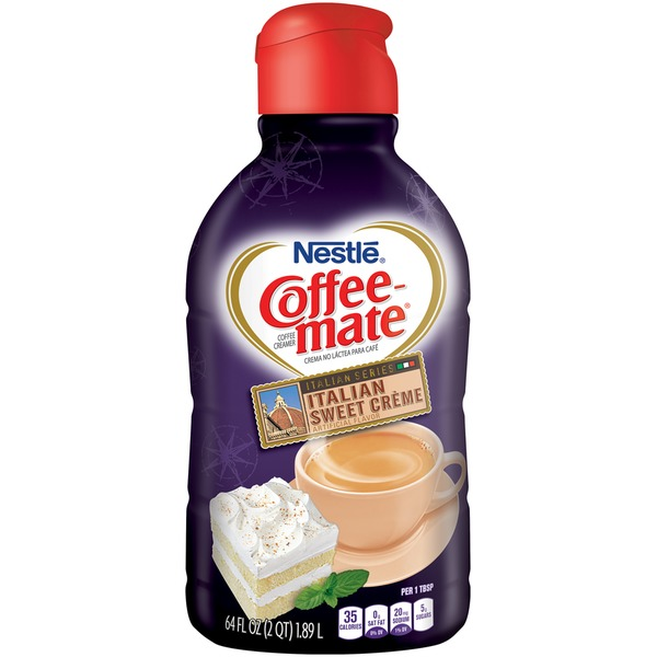 Nestle Coffee Mate Italian Sweet Creme Liquid Coffee Creamer