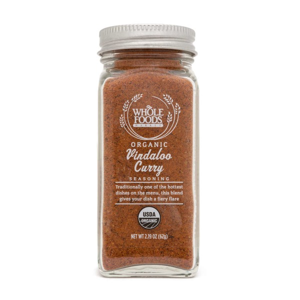 Whole Foods Market Organic Vindaloo Curry Seasoning