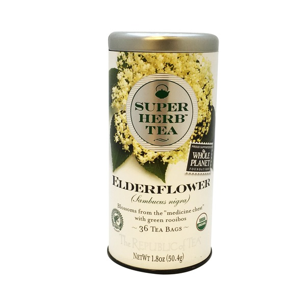The Republic of Tea Elderflower Super Herb Tea