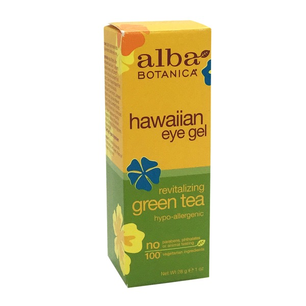 Alba Botanica Hawaiian Eye Gel Revitalizing Green Tea Hypo-Allergenic