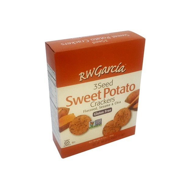 RW Garcia 3 Seed Sweet Potato Crackers