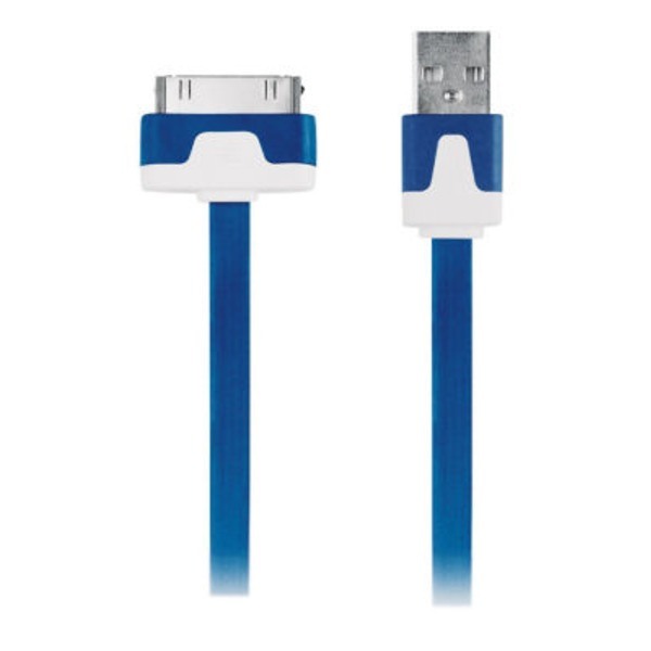 Cellular Innovations Essentials Blue 30 Pin Charger & Sync Cable